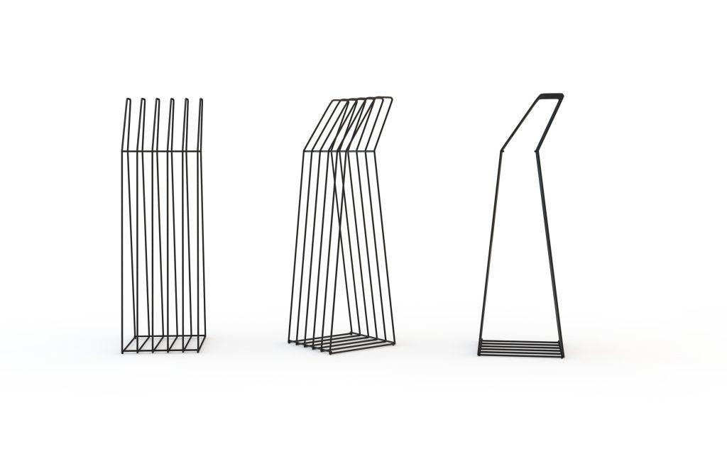 Cabideiro Zanine, design de Zanini de Zanine para NOS Furniture