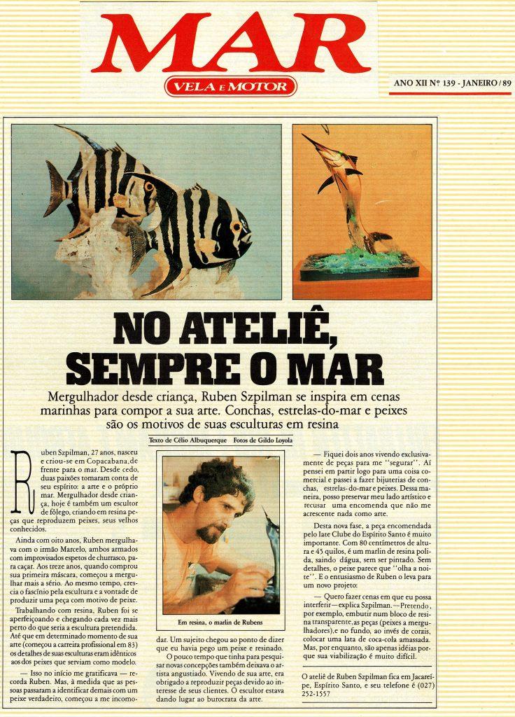 Reportagem de 1989 sobre Rubens Szpilman
