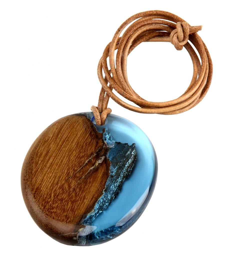 Colar Termit Gota Azul Turquesa - R. Szpilman Design ( 02 )-eleone-prestes