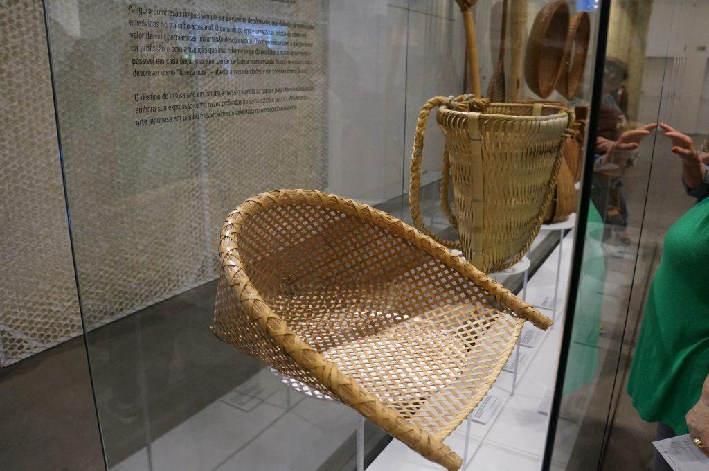 Artesanato de bambu na Japan House