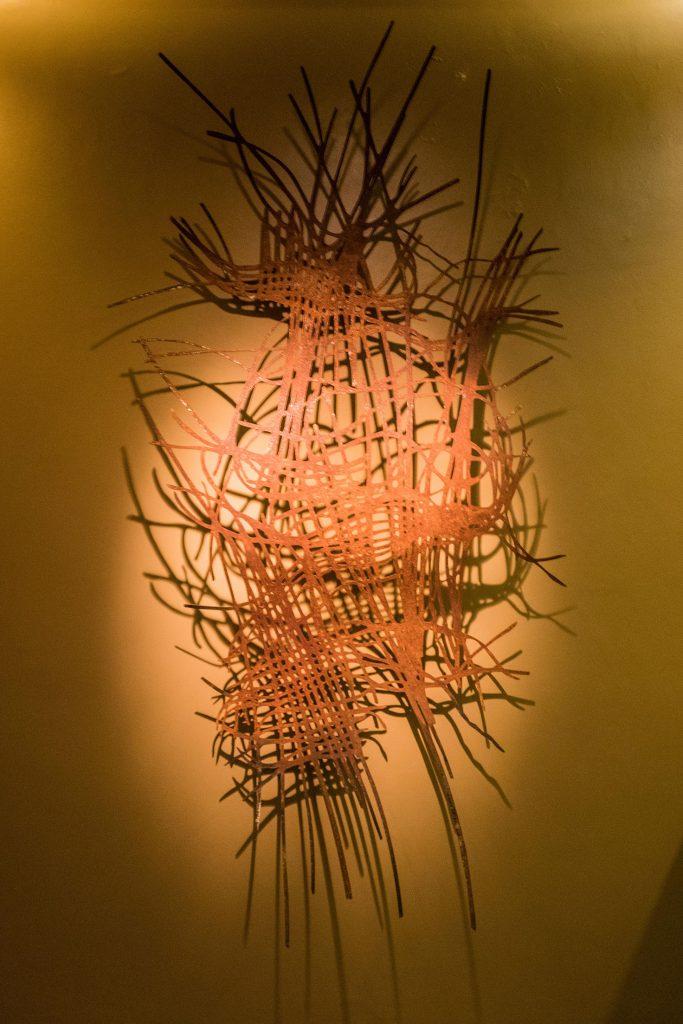 Obra Fiapo, de Magna Sperb, foto de Nilton Santolin