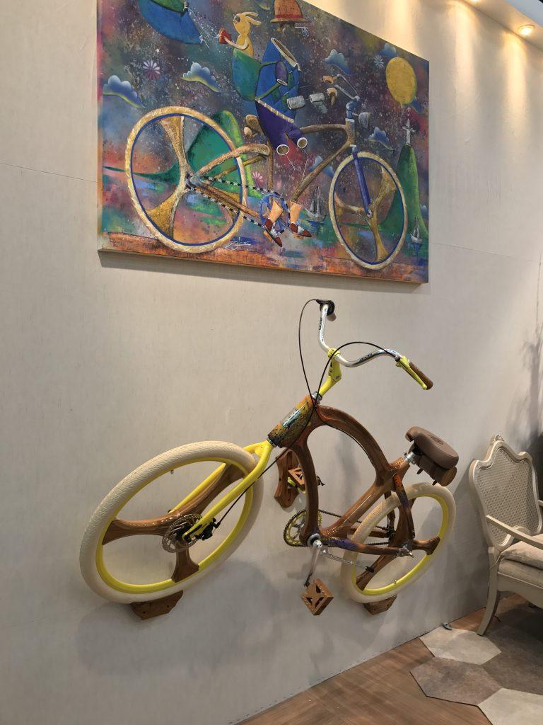 Bicicleta na Abimad - eleone prestes