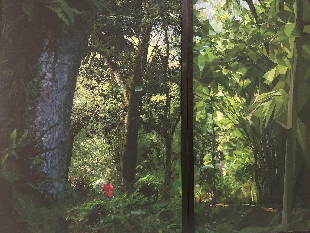 Obra exposta no Santander Cultural em Porto Alegre