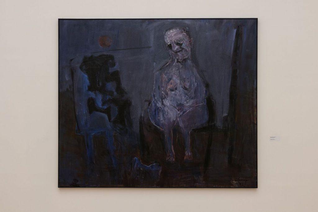 exposição No Drama, com obras de Iberê Camargo