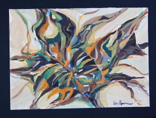 Estudo de tapeçaria de Jean Gillon, Passado Composto - eleone-prestes