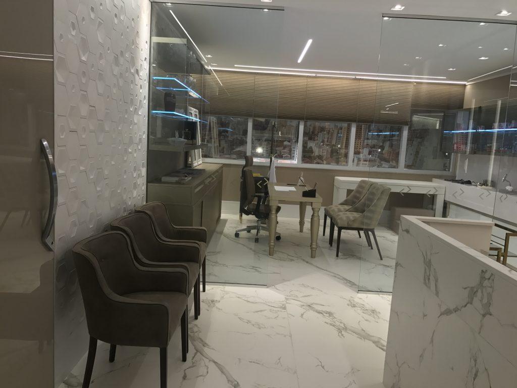 MedVie, futuro centro médico, projeto de interiores de Cris Mioranza