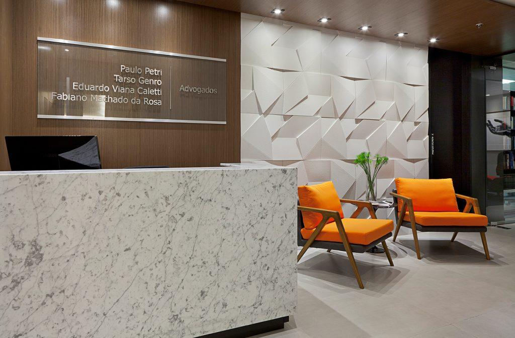 Escritório projetado por Mundstock Arquitetura