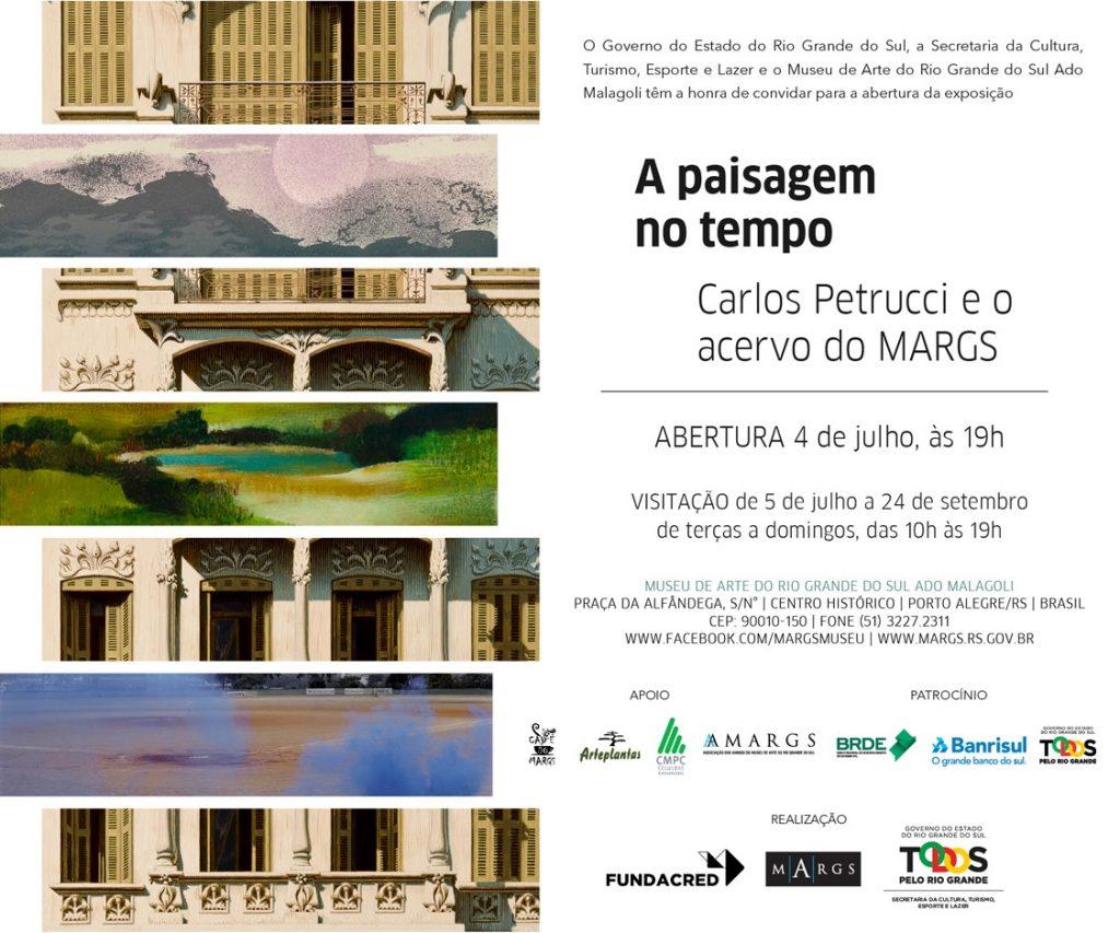 Exposição no MARGS Paisagem no Tempo_convite