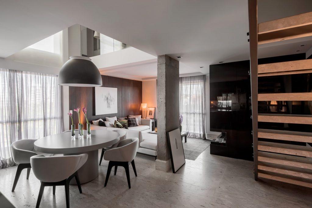 Apartamento projetado por Rafael Kroth