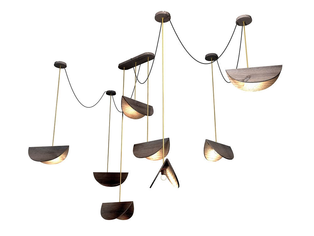 Bamboula - luminaria pendente - Designer Noemi Saga Atelier