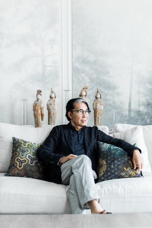 Kenzo Takada-designer-Roche Bobois-fotozoéfidji