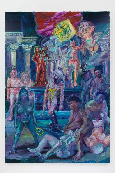 Obra de Thiago Martins no Santander Cultural