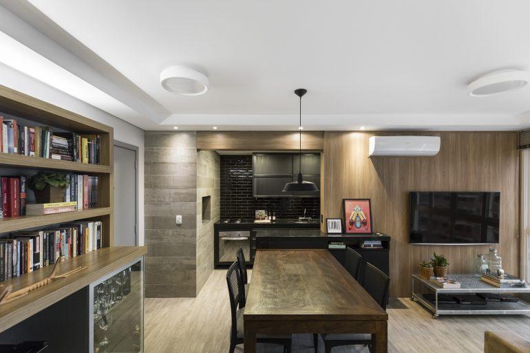 Apartamento de solteiro. Foto Marcelo Donadussi. Site eleoneprestes.com