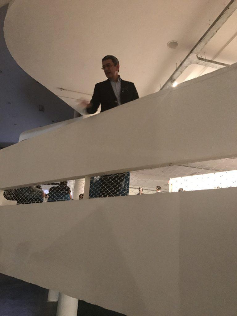 Wladick Jatobá no Pavilhão da Bienal