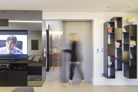 Apartamento projetado pela Arquitetando Ideias
