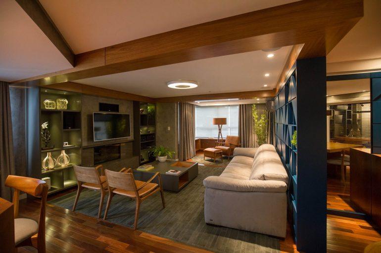 Apartamento Minas, projetado por Lineastudio Arquiteturas (fotos Juliano Mendes)