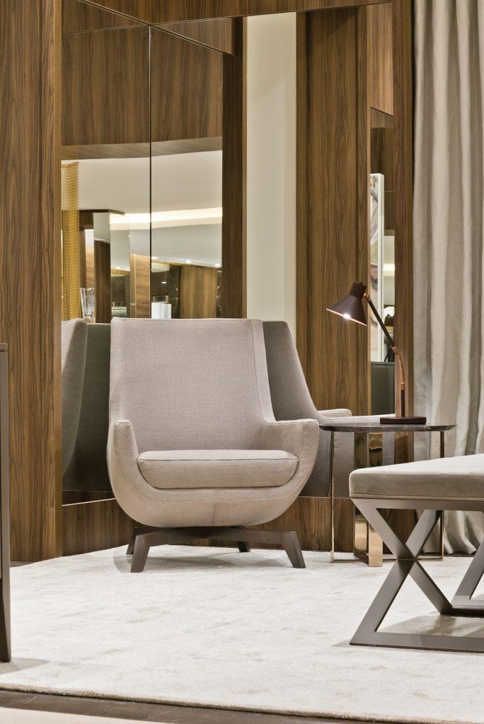 Espelhos dão um toque determinante para gerar um projeto dinâmico de interiores