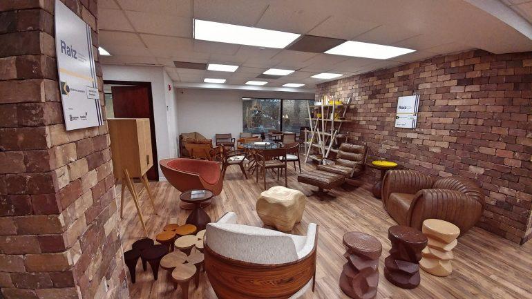 Showroom do projeto Raiz em Orlando - site Eleone Prestes