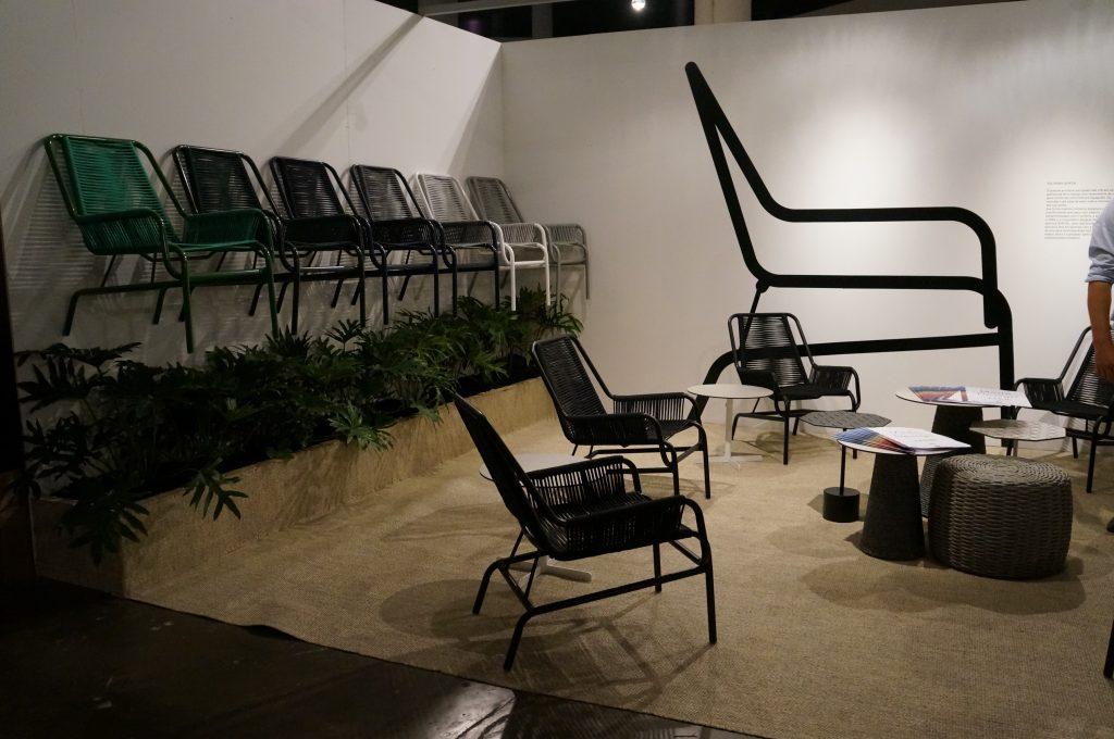 Cadeira Quinta, de Maurício Arruda, para Tidelli
