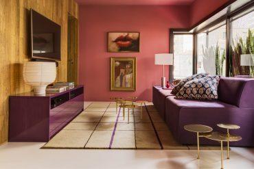 Apartamento em São Paulo - Estar Maximiliano Crovato