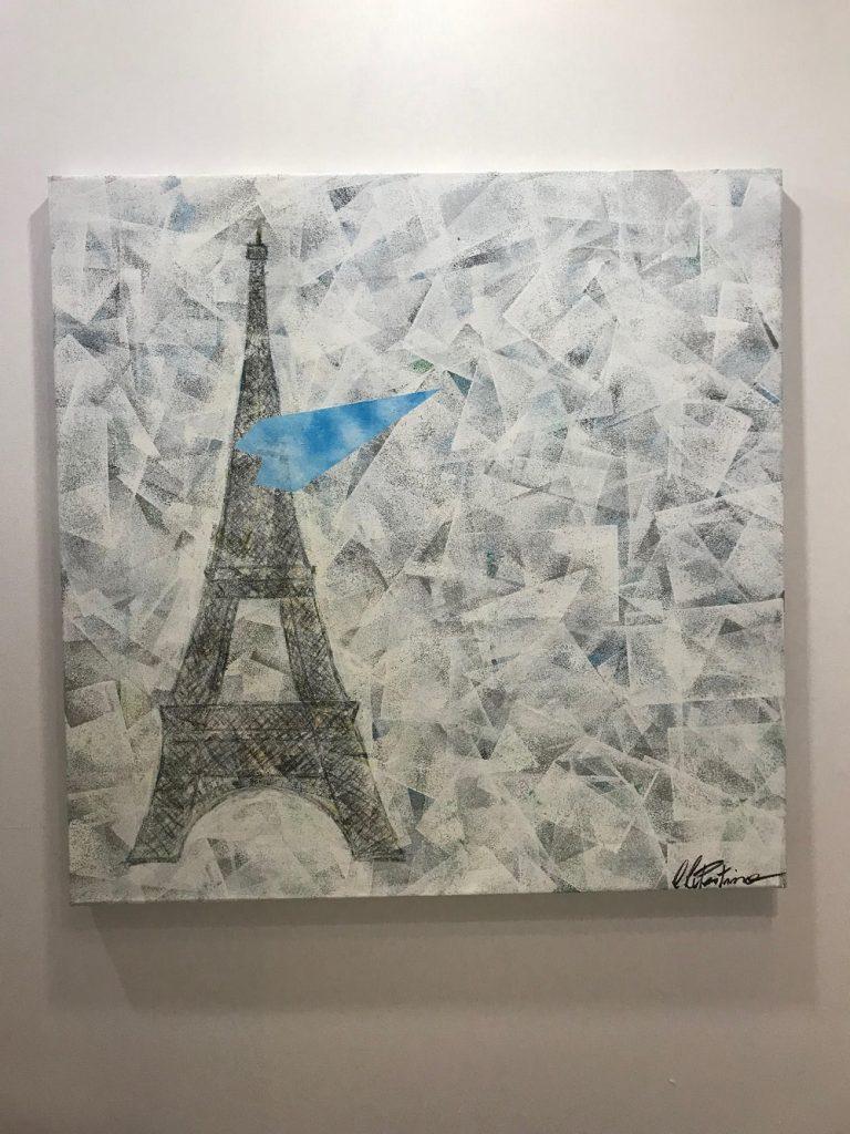 Obra de Claudio Cupertino exposta até este domingo em Paris (Fotos Studio Prestes)