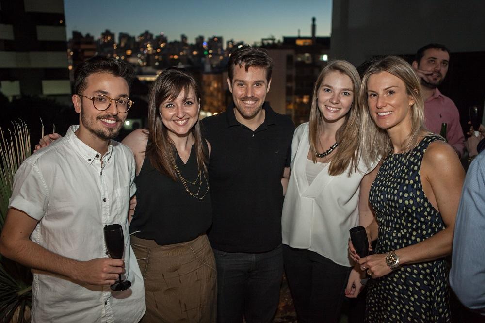 Happy Hour Cocriações na Smart, escritório de arquitetura contemporânea em Porto Alegre
