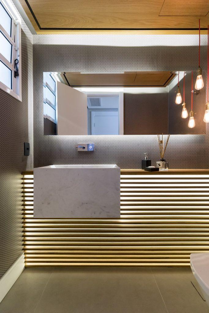 Apartamento reformado pela South Arquitetura - Eleone Prestes