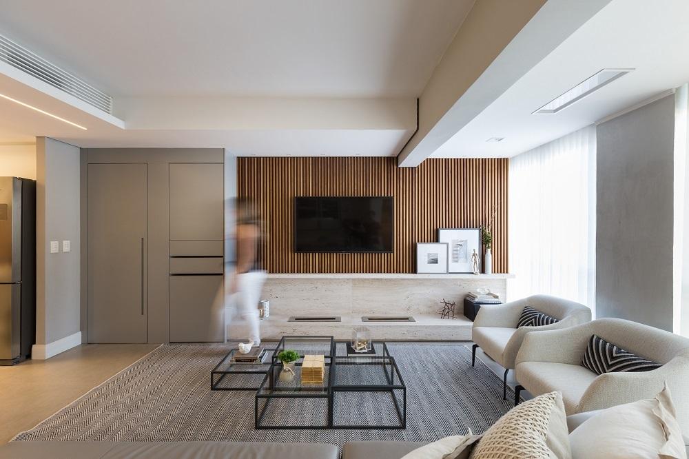 Apartamento reformado pela South Arquitetura