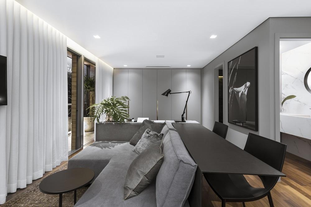 Apartamento compacto com amplo conforto(Fotos Marcelo Donadussi, Divulgação)