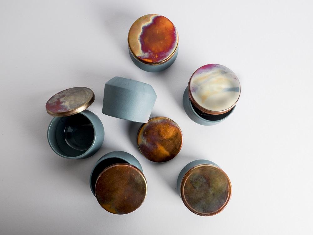 Porcelanas criadas pela designer de produto de Berlim, Anna Diekmann, (fotos Ambiente, Divulgação)