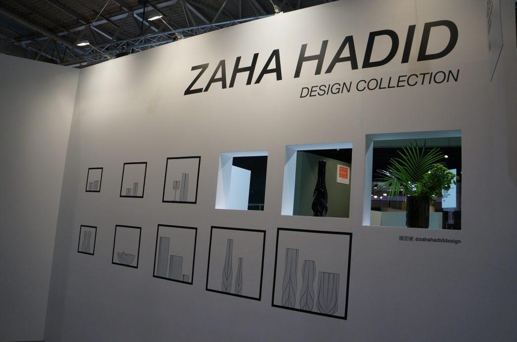 Estande arquitetado de Zaha Hadid na Maison & Objet