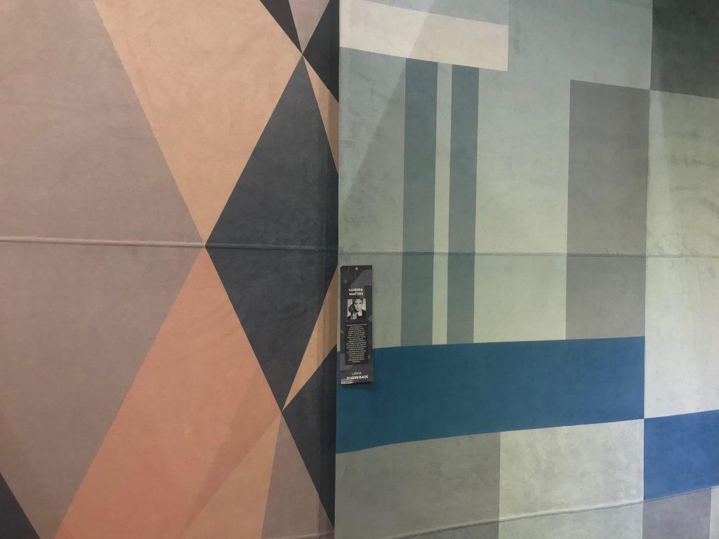 Na Tapetah, havia muitos produtos interessantes, como os tapetes da talentosa designer Vanessa Martins