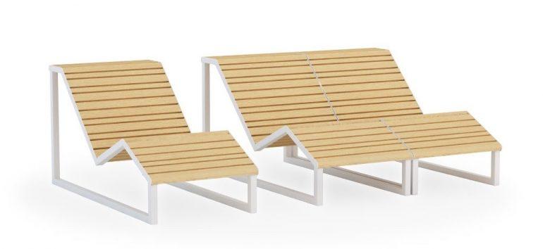 Dimmebi, móveis urbanos para usar dentro e fora de casa