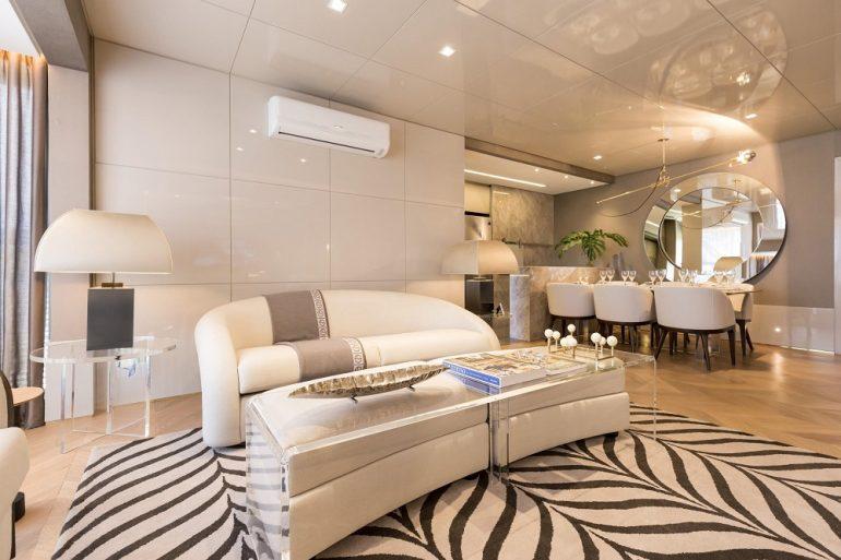 Apartamento decorado por Cassia Kroeff para Float, da Cyrella