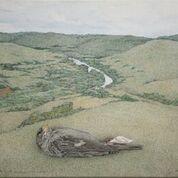 Pintura de Walmor Corrêa no Instituto Ling