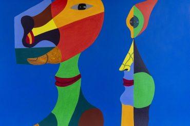 Foto de pintura do artista gaúcho (Fotos Nilton Santolin, divulgação)