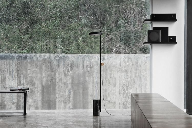 Design ambientado do designer chinês Chen Furong