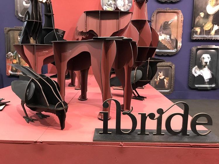Ibride é uma das marcas presentes na feira londrina (fotos Fernanda Vargas, divulgação)