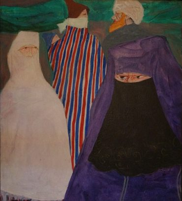 Danúbio Gonçalves, Boulevard Mohammed V, 1982. Acrílica s tela, 50 x 64 cm (Fotos Divulgação)