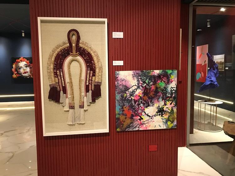 Galeria de Arte de Luiz Maingué, com curadoria de Cézar Prestes
