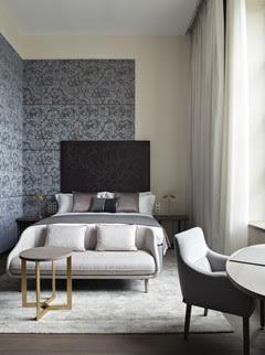 Hotel com interiores projetado por STUDIO_JEAN-PHILIPPE_NUEL