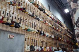 Guitarras do Hard Rock