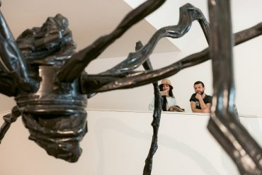 Escultura na Fundação Iberê Camargo (Fotos Divulgação)