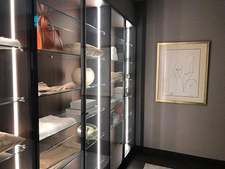 Arte até no closet