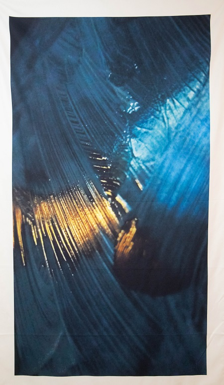 Obra da exposição A Tempestade, de Fábio André