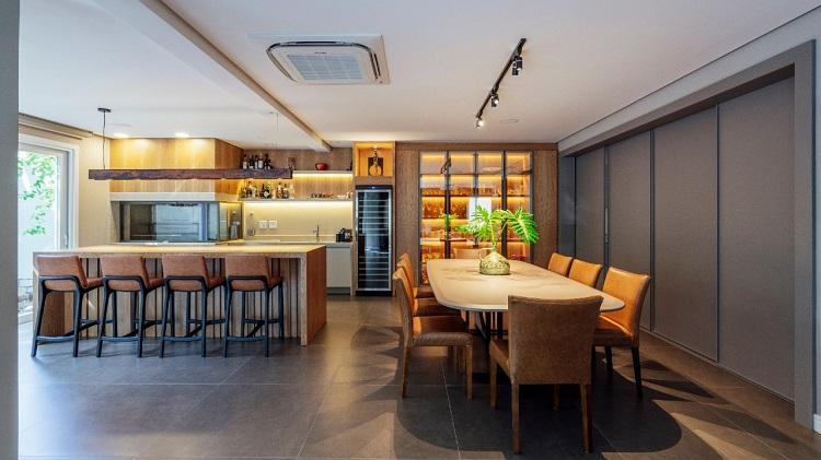 Cozinha isolada