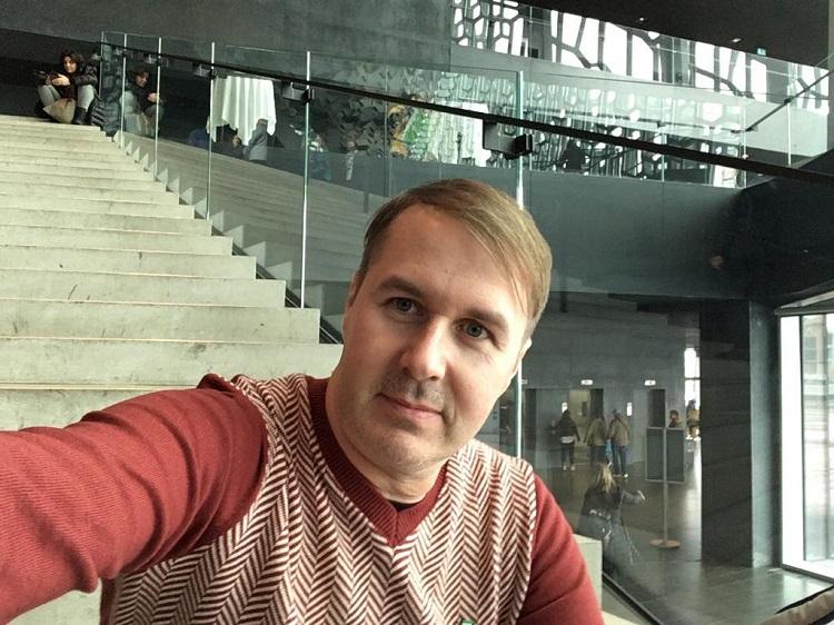 Arquiteto Marcelo Minuscoli, participante do Coletivo Criativo da Portobello na edição da Islândia e na de Berlim, que terá o resultado lançado na Expo Revestir, em São Paulo (foto Marcelo Minuscoli, arquivo pessoal)