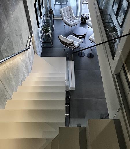 Escada escultural