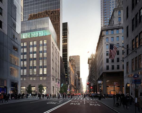 Esquina da 5th Avenue com 57th Sreet
