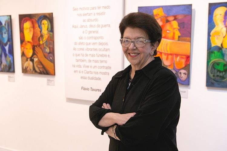 Artista Clara Pechansky (foto Lisa Roos, divulgação)